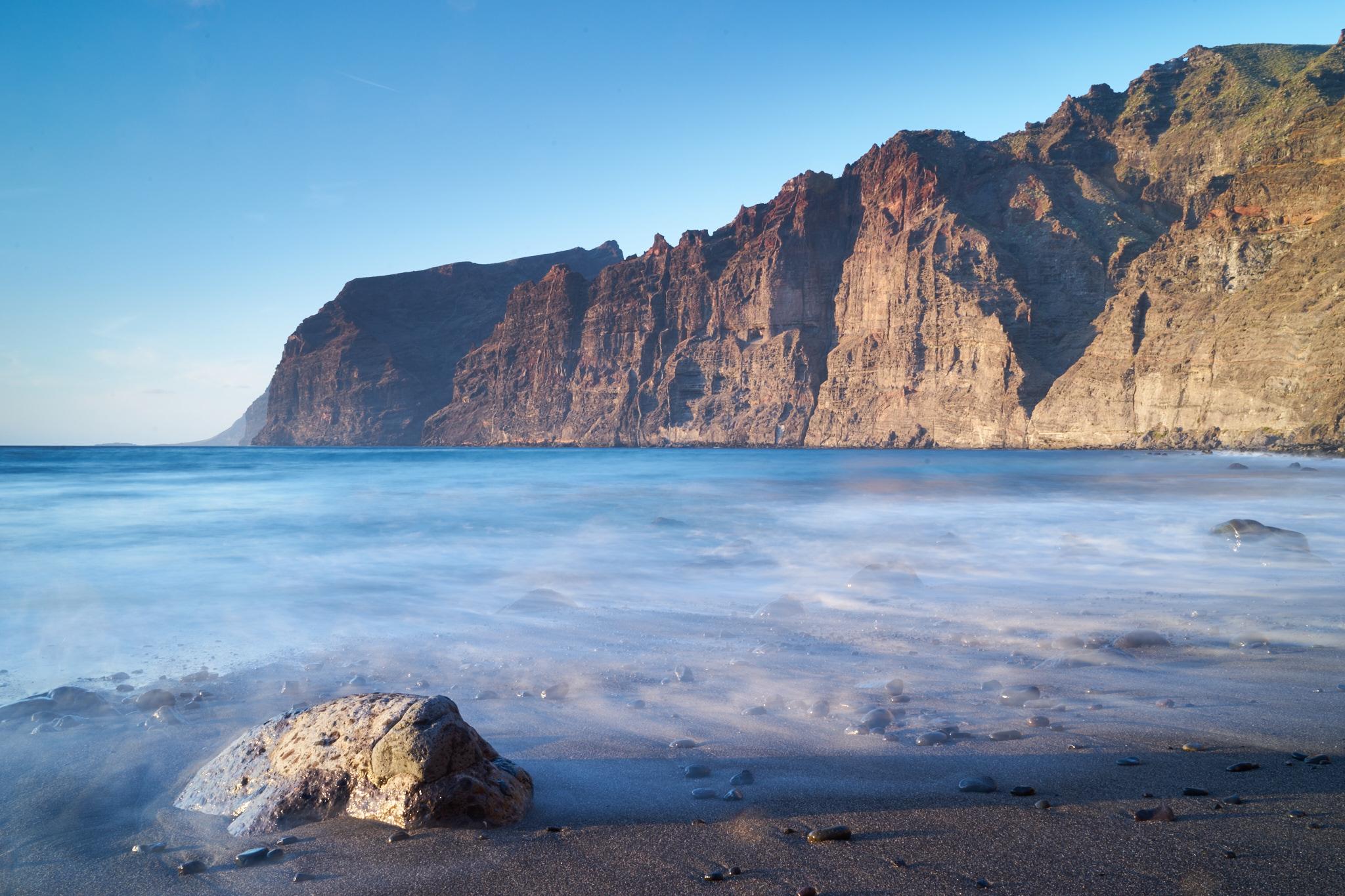 playa de los gigantes à Ténérife