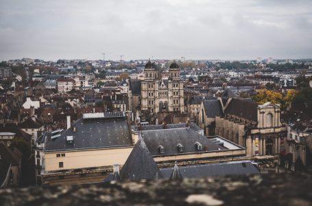 Vue sur Dijon depuis la tour philippe le bon