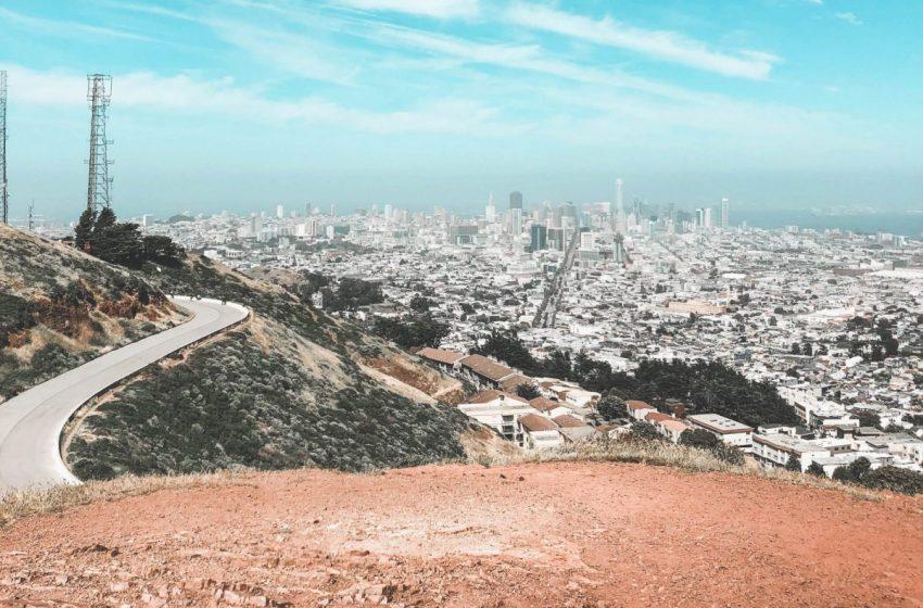 San Francisco depuis Twin Peaks, vue sur la ville