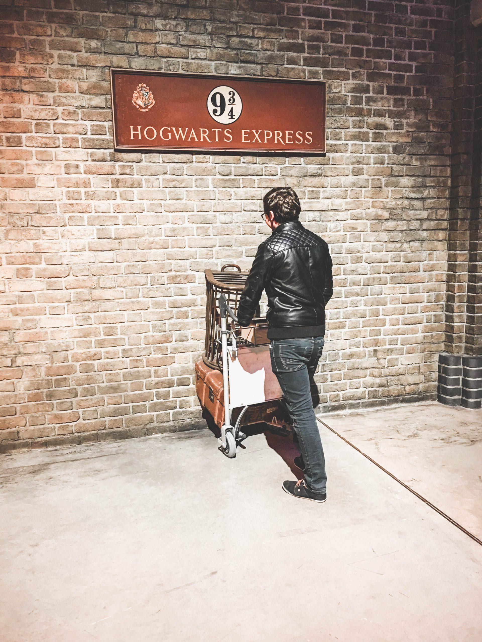 Reconstitution d'une scène mythique d'Harry Potter