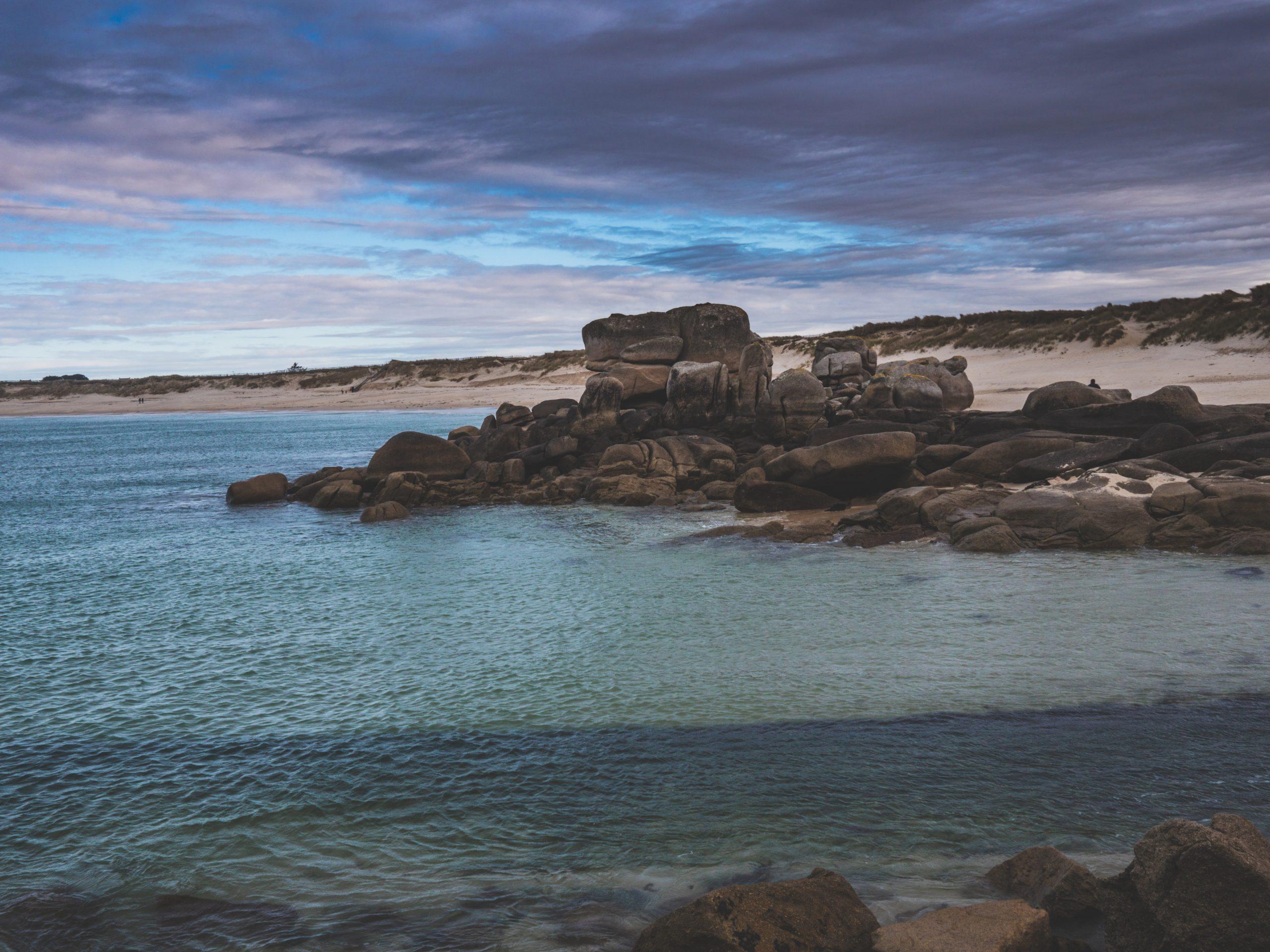 plage de Ménéham (aussi écrit Menez Ham en breton)