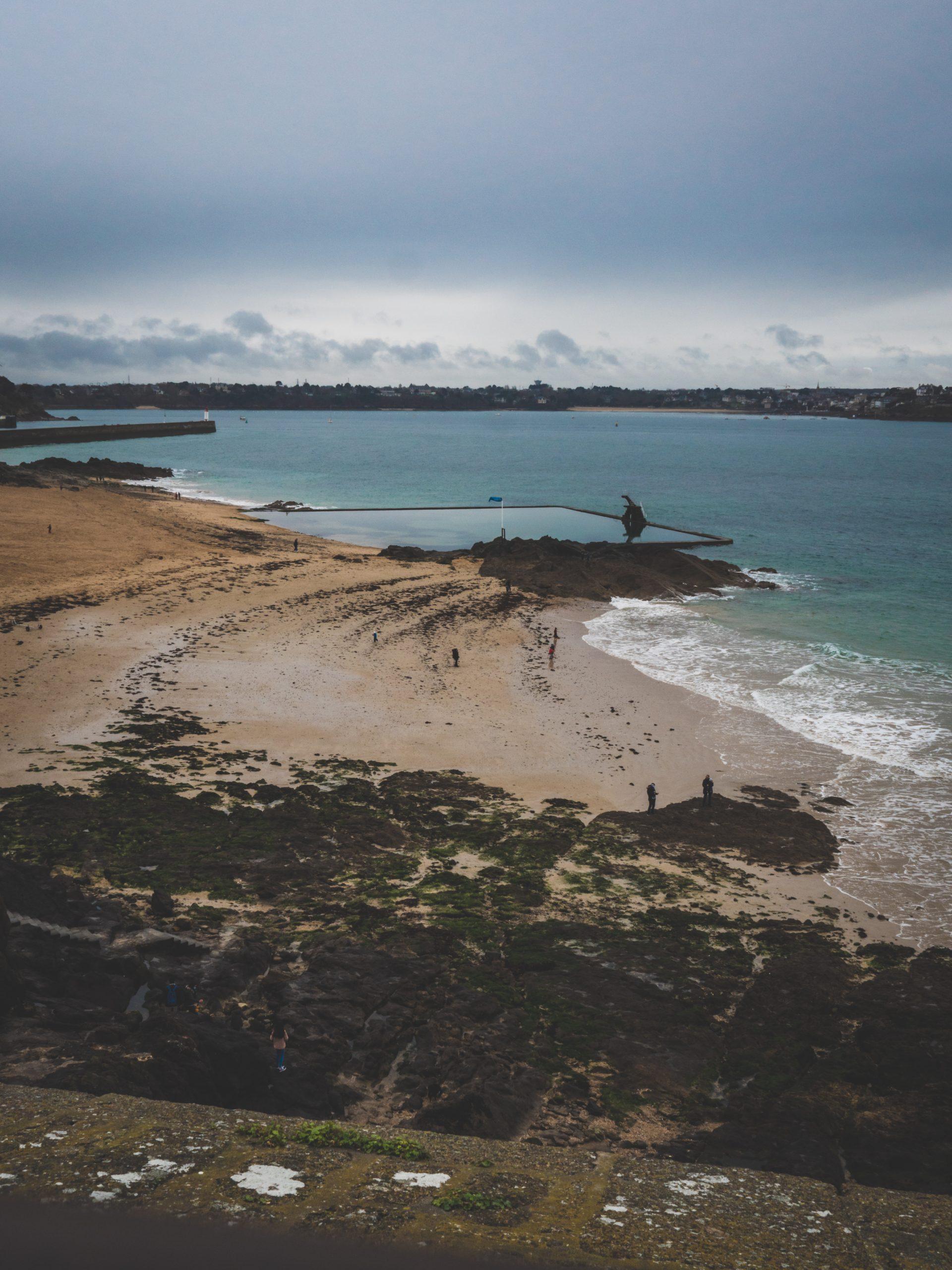 Piscine de la plage Bon Secours à Saint-Malo
