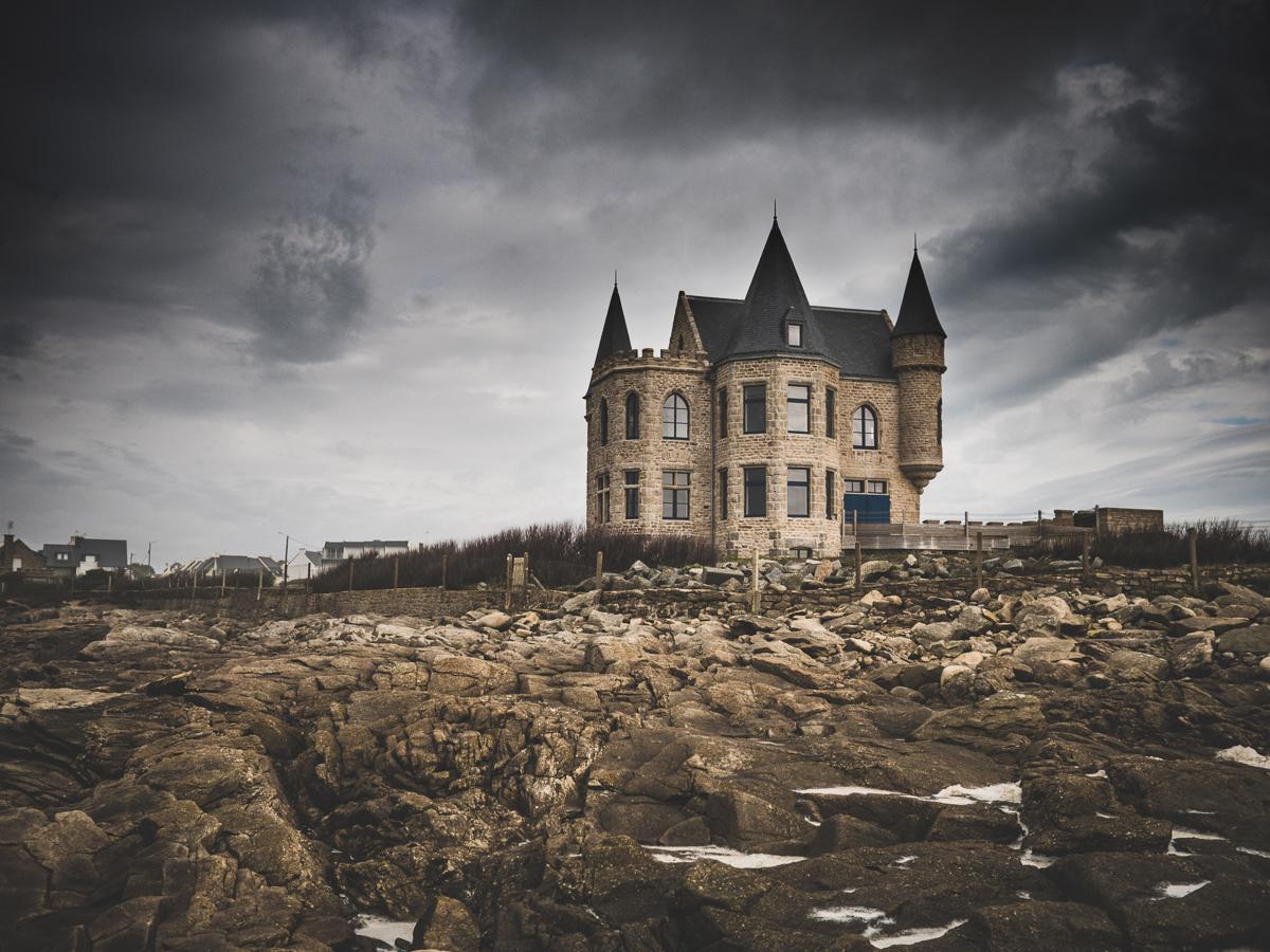 chateau Turpault à Quiberon